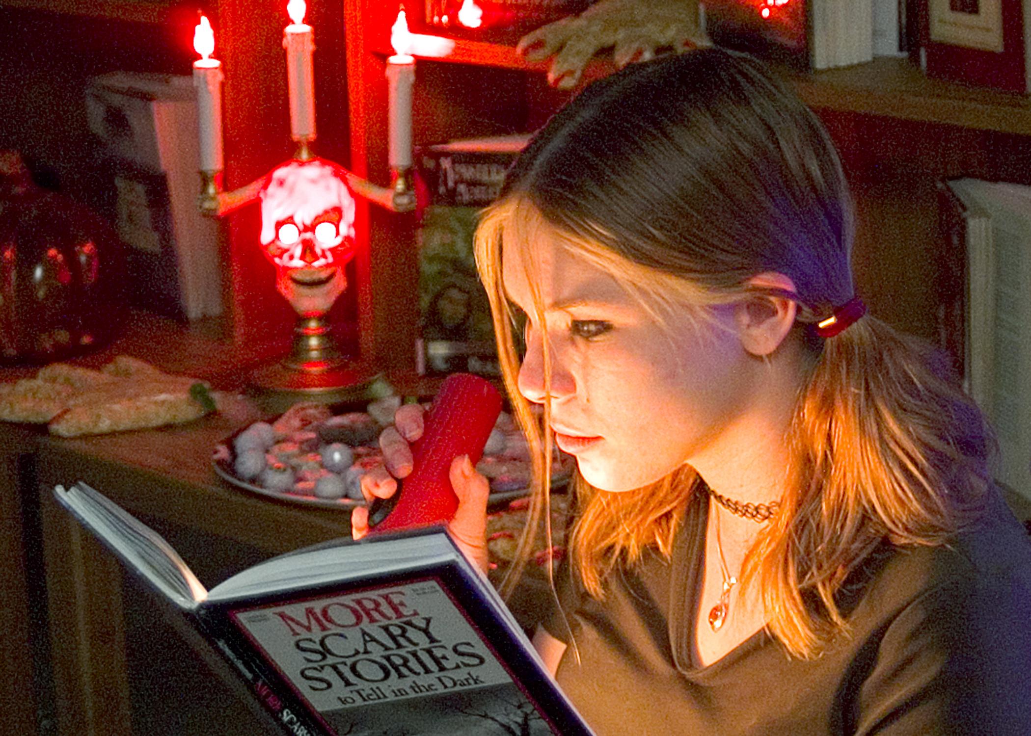 Haunted reading room spooks teens