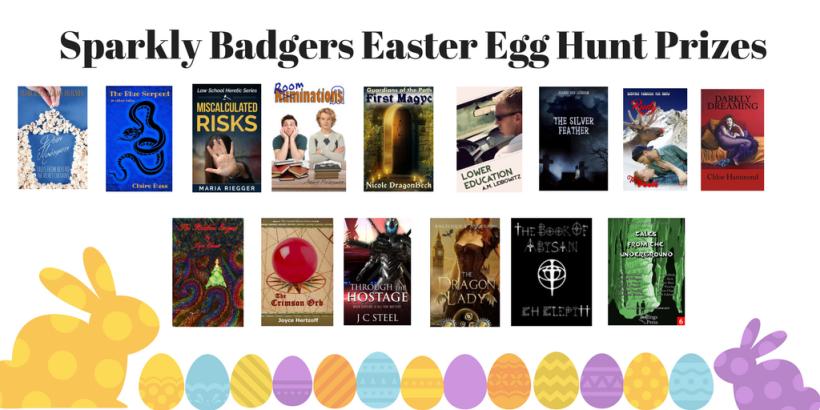 Sparkly Badgers Egg Hunt