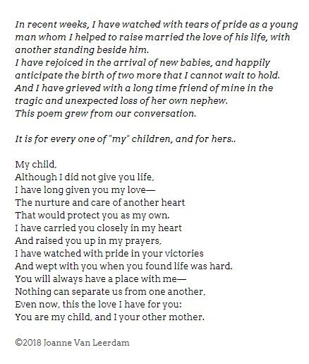 Poem My Child