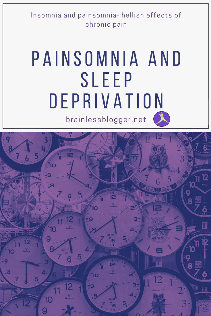 Painsomnia and sleep deprivation
