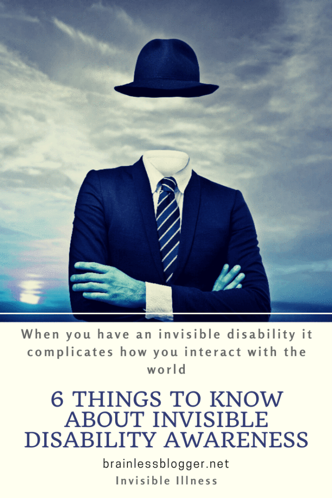 6 Things to know about Invisible Disability Awareness